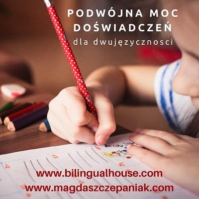 Bilingual kids reading writting 1 - Nauka czytania i pisania po polsku