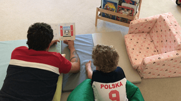 reading - Polish books for children in bilingual family